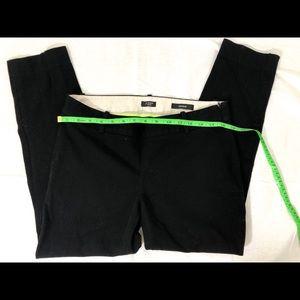 J Crew Minnie Black skinny leg trousers